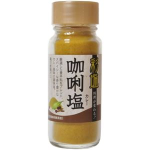 彩塩 カレー 74g 【8セット】