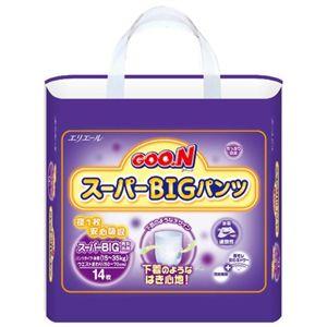 グーン スーパーBIGパンツ 14枚 【5セット】