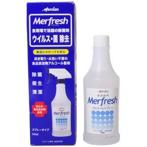 メルフレッシュ アルコールスプレー スプレー入りセット 500ml 【2セット】