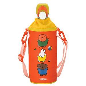 サーモス ペットボトルキャップ&クーラー ミッフィー 500mlペットボトル用 レッド RDI-500B R 【2セット】