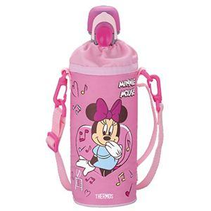 サーモス ペットボトルキャップ&クーラー ディズニー ミニー 500mlペットボトル用 ピンク RDI-500DS P 【2セット】