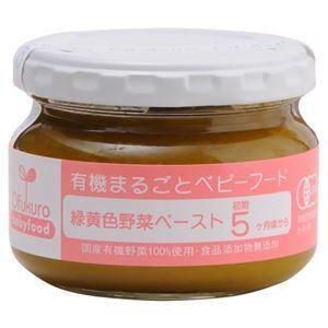 有機まるごとベビーフード 緑黄野菜ペースト 100g(初期5ヶ月頃から) 【5セット】