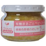 有機まるごとベビーフード 緑黄色野菜のおじや 100g(中期7ヶ月頃から) 【5セット】