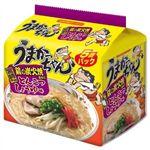 うまかっちゃん 宮崎名物 鶏の炭火焼風味のとんこつしょうゆ味 5個パック 【10セット】