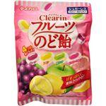 テイカロ クリアインフルーツのど飴 94g 【12セット】