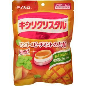 テイカロ キシリクリスタル マンゴー&ピーチミントのど飴 72g 【12セット】