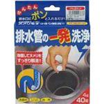 排水管の一発洗浄 40錠 【2セット】
