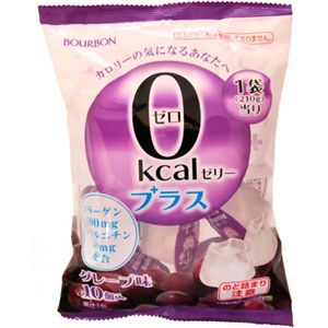 0kcalゼリープラス グレープ味 10個入 【8セット】