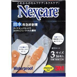 ネクスケア 防水救急絆創膏 3サイズ 16枚 【7セット】