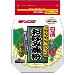 日清 いろいろ具入りのお好み焼粉 400g 【20セット】