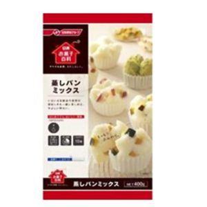 日清 お菓子百科 蒸しパンミックス 400g 【15セット】