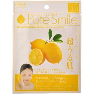 ピュアスマイル エッセンスマスク レモン 1枚入 【20セット】