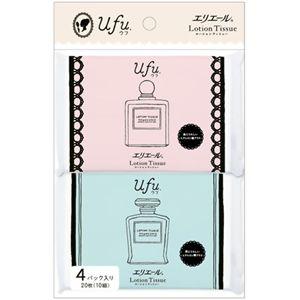 エリエール ローションティッシュー Ufu(ウフ) ポケット 4P 【30セット】