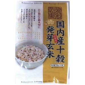 国内産十穀プラス発芽玄米 25g*6袋 【6セット】