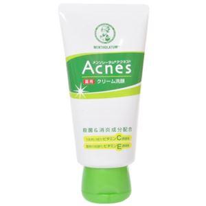 メンソレータム アクネス薬用クリーム洗顔 130g 【4セット】