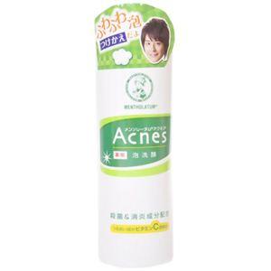 メンソレータム アクネス薬用泡洗顔 つけかえ用 200ml 【4セット】