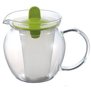 iwaki パイレックス レンジのポット お茶ポット グリーン 853T-G 【9セット】