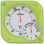 エンペックス シュクレミディ温・湿度計 TM-5603 【3セット】