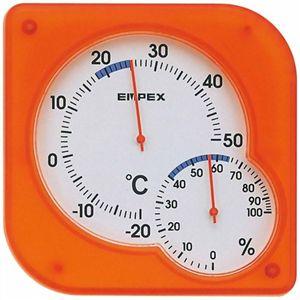 エンペックス シュクレミディ温・湿度計 TM-5604 【3セット】
