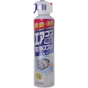 エアコン徹底洗浄スプレー無香料 420ml 【6セット】