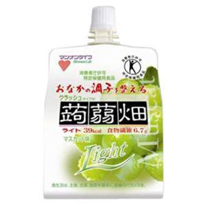 クラッシュタイプの蒟蒻畑ライト マスカット味 150g*6個入 【3セット】