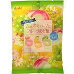 ふんわりハーブのフルーツのど飴 100g 【18セット】