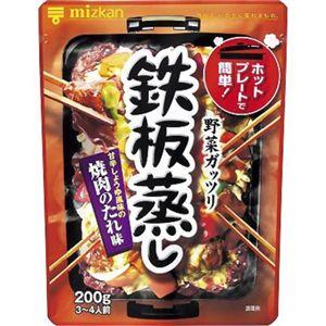 ミツカン 鉄板蒸し 焼肉のたれ味 200g 【13セット】
