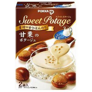 ポッカ 冷製スィートポタージュ 甘栗 2袋入 【18セット】