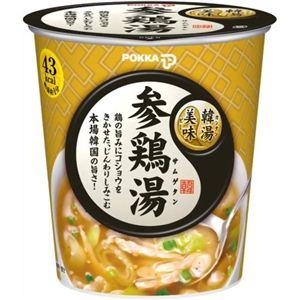 ポッカ 韓湯美味 参鶏湯 13g 【20セット】