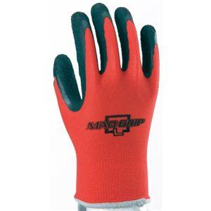GloveMania マッドグリップ 1P #2535 レッド L 【6セット】