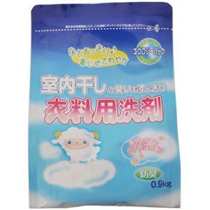 室内干し衣料用洗剤 エコロジー-パック 0.9kg 【18セット】