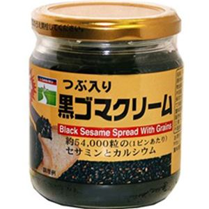 (まとめ買い)三育 つぶ入り黒ゴマクリーム 190g×4セット