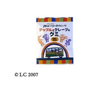 (まとめ買い)創健社 メイシーちゃんのおきにいり アップルとグレープのグミ 8粒×18セット