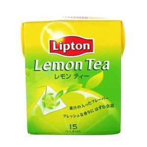 リプトン レモンティー ティーバッグ 15袋 【6セット】