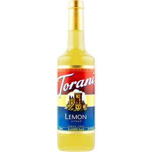 (まとめ買い)トラーニ フレーバーシロップ レモン 750ml×2セット