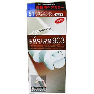 ルシード スタイルアップカラー903 ナチュラルブラウンモルト 5T 【4セット】