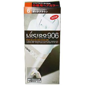 ルシード スタイルアップカラー906 ダークブラウン 6 【4セット】
