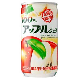 アップルジュース100% 190g×30本