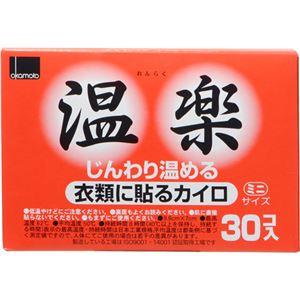 (まとめ買い)温楽 貼るミニカイロ 30個入×10セット