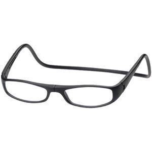 老眼鏡クリックユーロ(clic euro) マットブラック +2.0