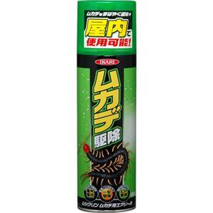 (まとめ買い)IKARI ムシクリン ムカデ用エアゾール 480ml×3セット
