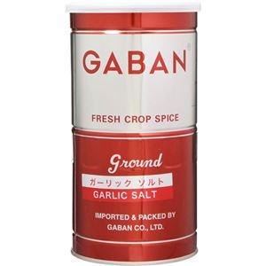(まとめ買い)ギャバン ガーリックソルト 缶 450g×5セット
