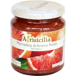 (まとめ買い)アグリシチリア オーガニックマーマレード レッドシチリアンオレンジ 360g×5セット