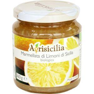 (まとめ買い)アグリシチリア オーガニックマーマレード シチリアンレモン 360g×5セット