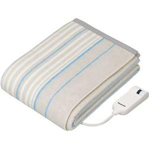 (まとめ買い)パナソニック 電気かけしき毛布 シングルMサイズ DB-RP1M-H ライトグレー×12セット