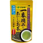 (まとめ買い)伊藤園 一番摘みのおいしいお茶 希少品種おくみどりブレンド 100g×3セット