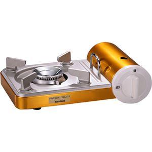 (まとめ買い)イワタニ カセットコンロ カセットフー プチスリム ゴールド CB-JRC-PS-G×2セット
