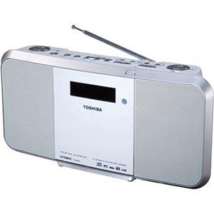 東芝 SD/USB/CDラジオ ホワイト TY-CRX71(W)
