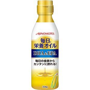 (まとめ買い)味の素 毎日栄養オイル DHA&EPA 250g×3セット
