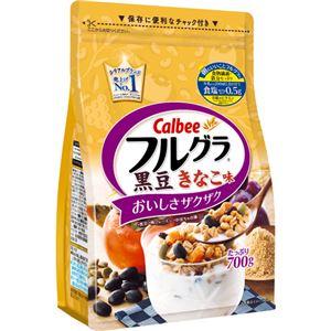 【ケース販売】カルビー フルグラ 黒豆きなこ味 700g×6袋